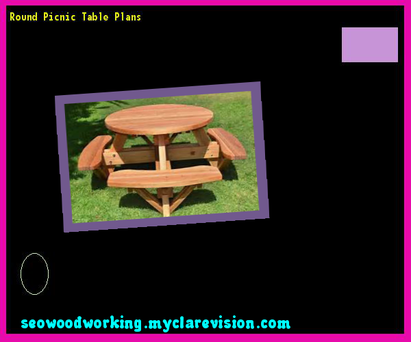 Round Picnic Table Plans 091843 - Woodworking Plans and Projects!