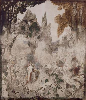 Les Chimeres Musee Gustave Moreau Symbolic Art Art 19th Century Art