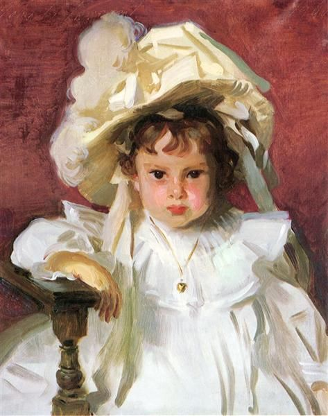 Dorothy, 1900 by John Singer Sargent. Realism. portrait. Dallas Museum of Art, Dallas, TX, US