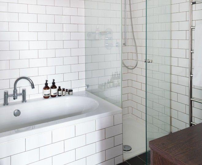Charmant Bathroom Ideas, Scandinavian Bathroom With Subway Tiles Bathroom: The  Subway Tile Bathrooms Designs