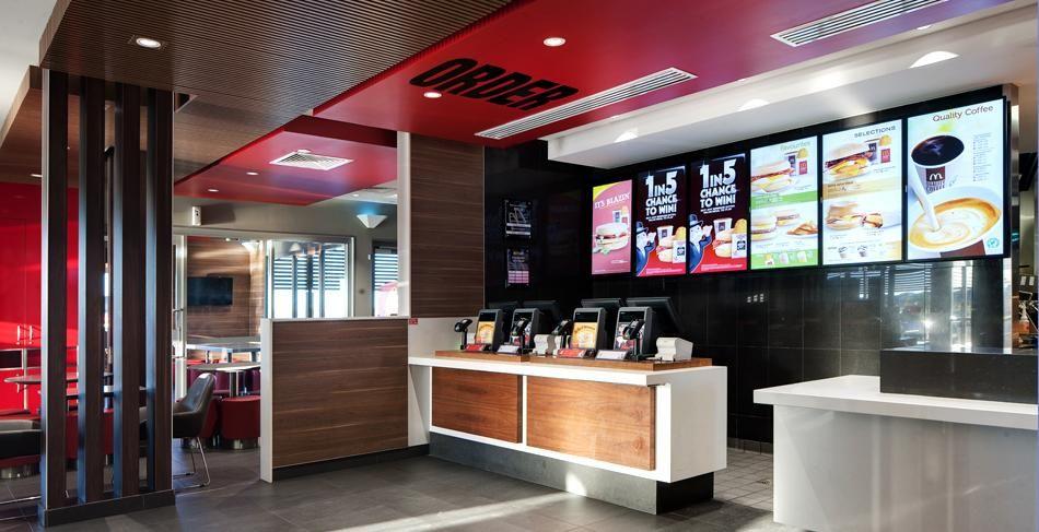 Mcdonalds interior google search hospitality design
