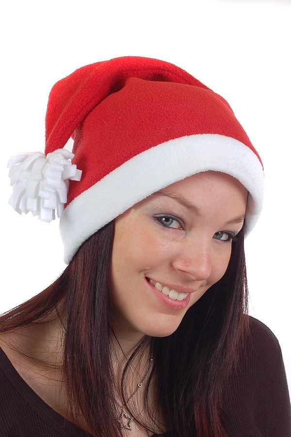 Fleece Santa Hat Stocking Cap Sewing Pattern PDF infant – adult ... 7e84a58d2d5
