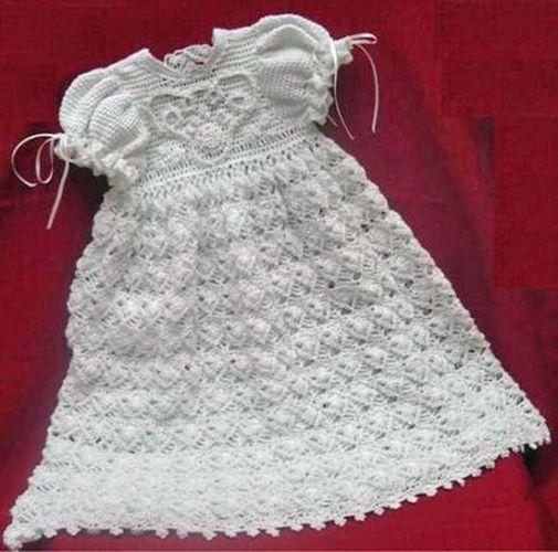 Free Crochet Pattern Christening Dress 10 Crochet Cotton Tons