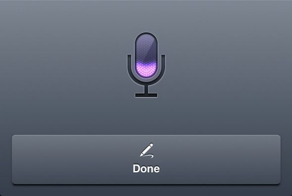 ¿Podría Llegar el Dictado de Voz Offline con iOS 7?