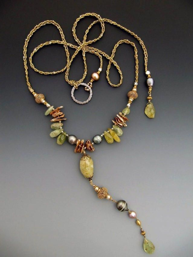 Hardware Jewelry Ideas Mixed Metals