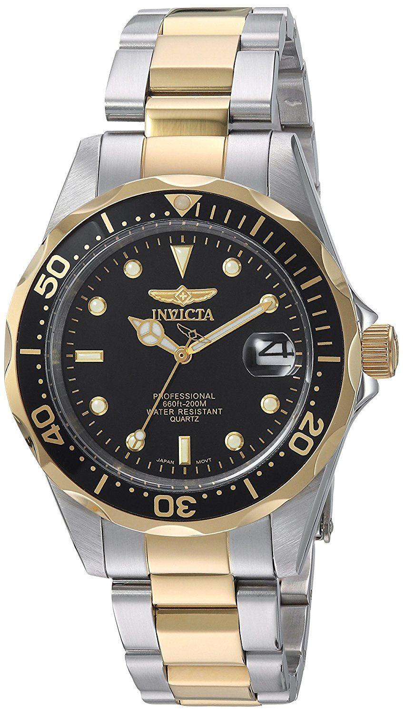 Buy Invicta ProDiver Analog Black Dial Men's Watch 8934