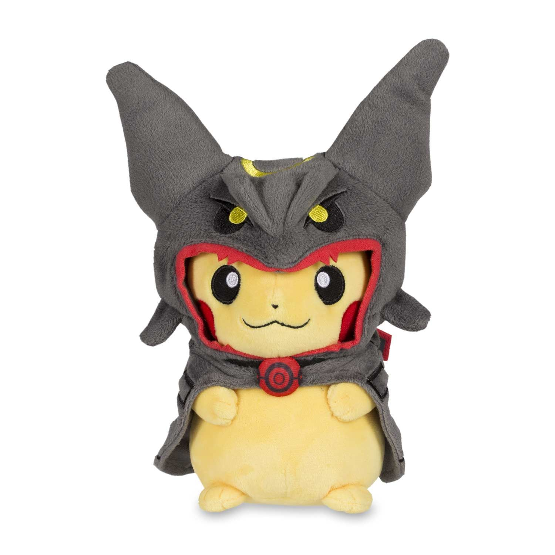 13ac4c52 Pikachu Hoodie Shiny Rayquaza plush | Poké Plush | Pokémon Center Original