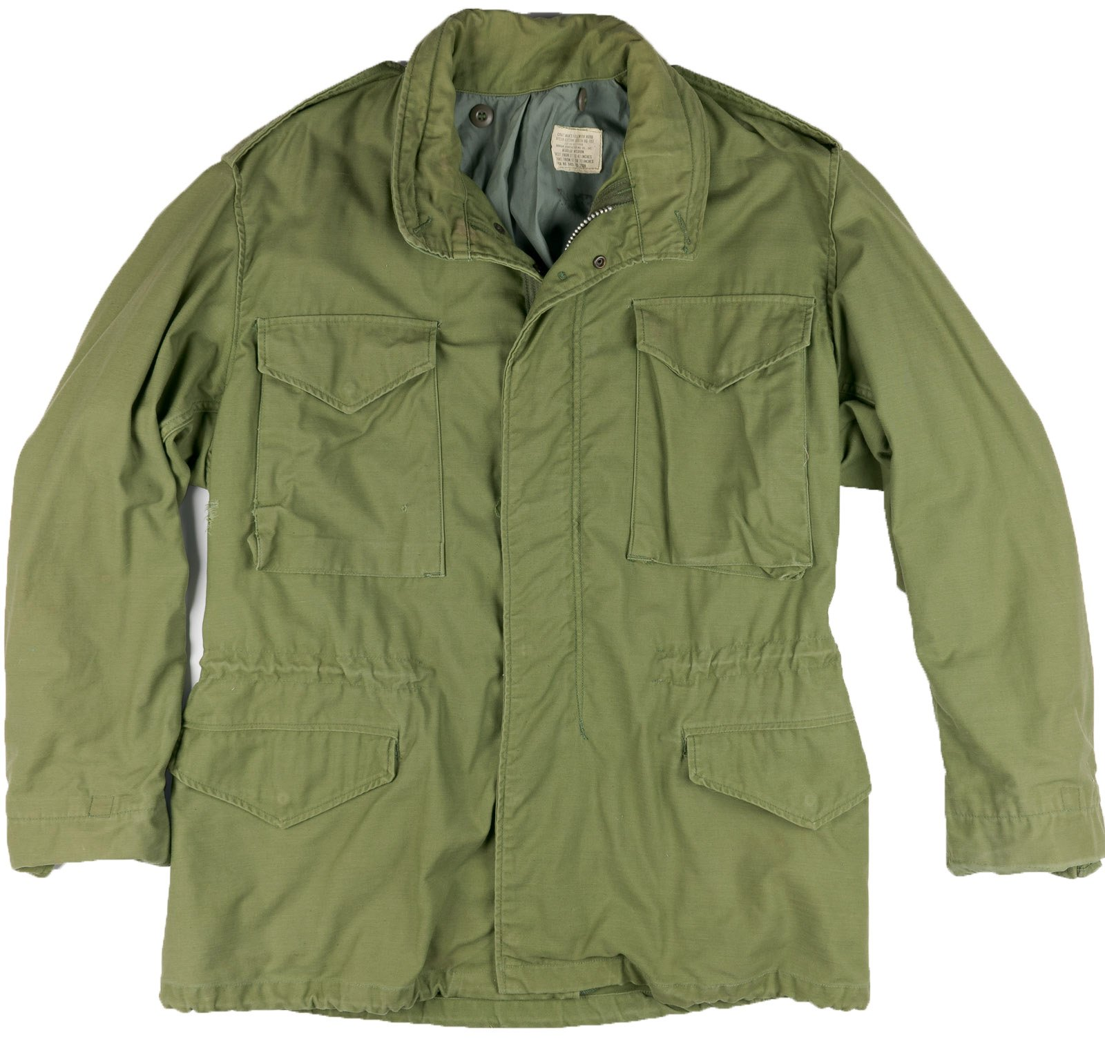 1968 Men's Field Jacket Medium M65 Vintage Vietnam Era