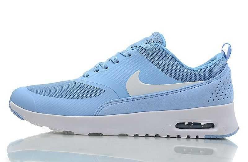 Womens Formateurs Nike Air Max Bleu De Thea Chaussures