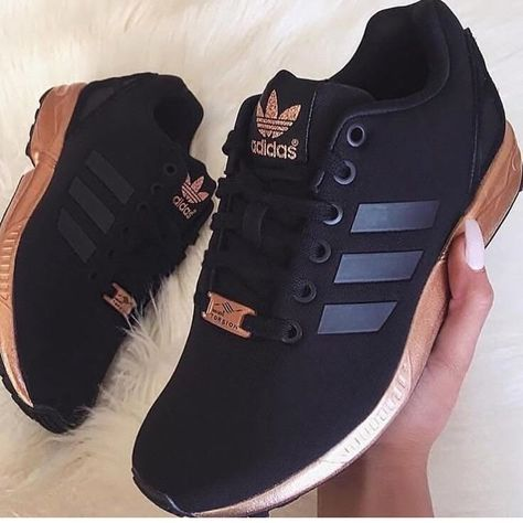 adidas zx flux femme noir cuivre