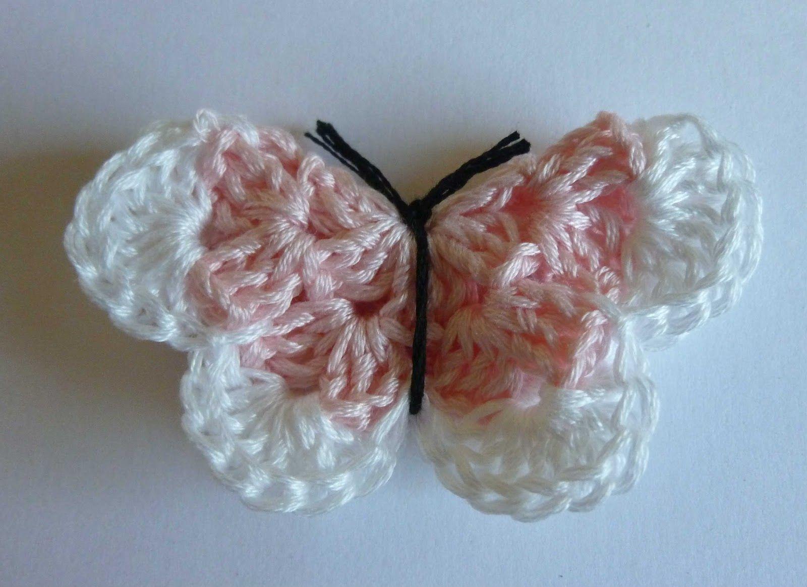 free crochet butterfly patterns | Crochet Dynamite: The Hook Makes ...