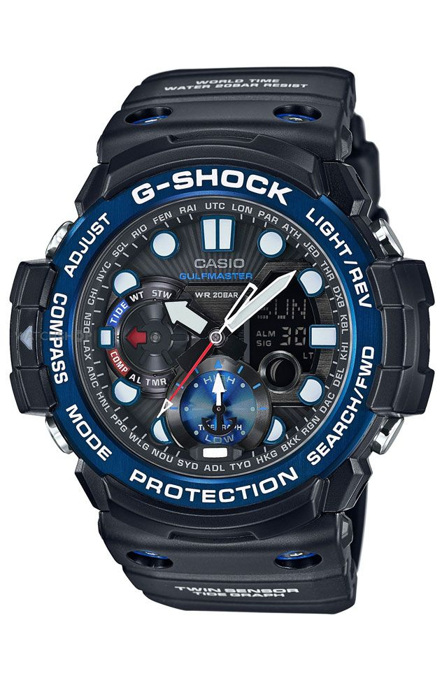 2bf964c11 Reloj Casio G-Shock cronógrafo hombre GN-1000B-1AER en 2019 | Mis ...