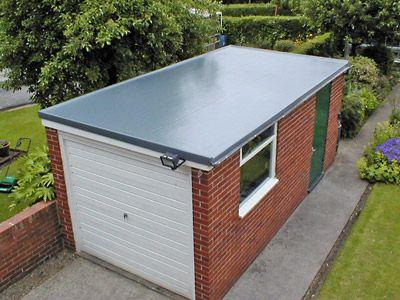 Wonderful Prospects For The Beautiful Mind Workshop Garage Flatroof Flat Roof Installation Roof Installation Flat Roof