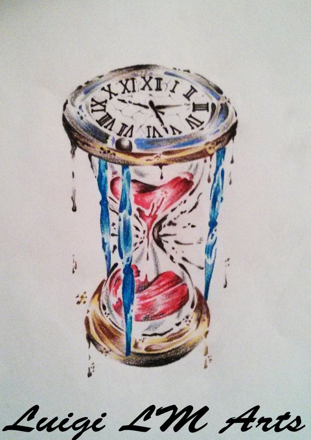 Hourglass Painting Style By Luigilmarts D7cf8yd Jpg 636 900