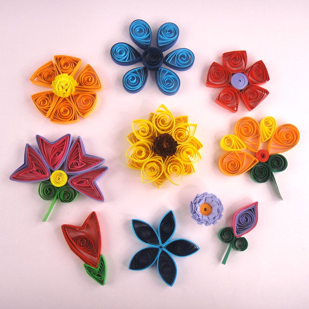 Quilling Flowers Quilling patterns, Paper quilling