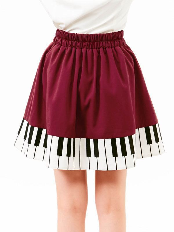 52c28505c Japanese sweet piano keys skirt embroidered skirt Free shipping · HIMI'Store  · Online Store Powered by Storenvy