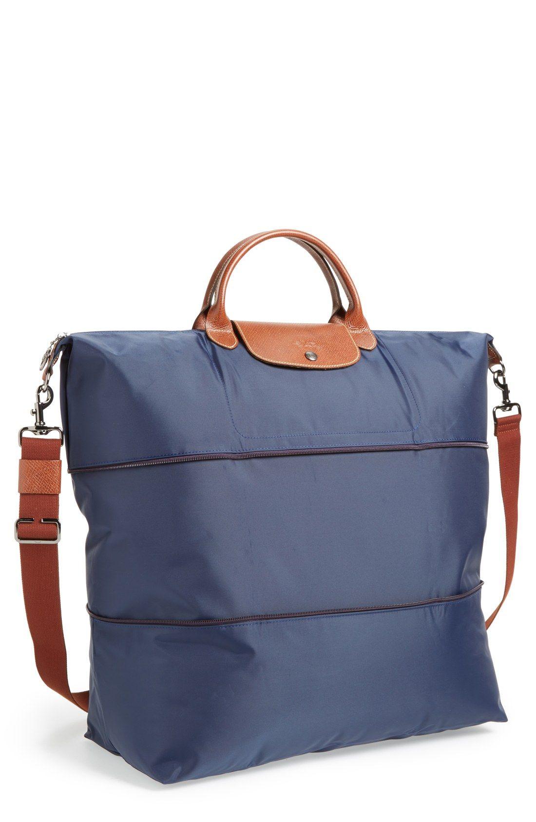 Le Pliage' Expandable Travel Bag | Longchamp, Bags and Travel