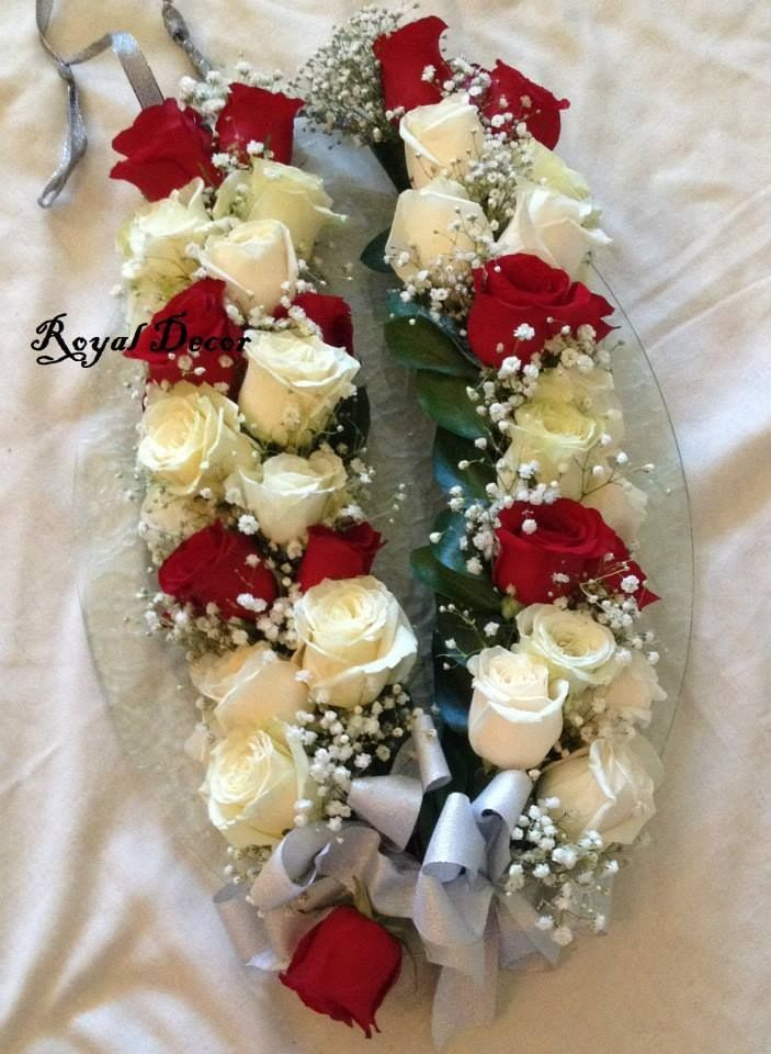 fresh flower garlands for weddings bridal haar garland for wedding fresh flower jewelry 4361