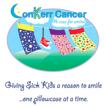 Conkerr Cancer Pillowcase Sew For Smiles With Craftsy Cares And Conkerr Cancer  Cancer