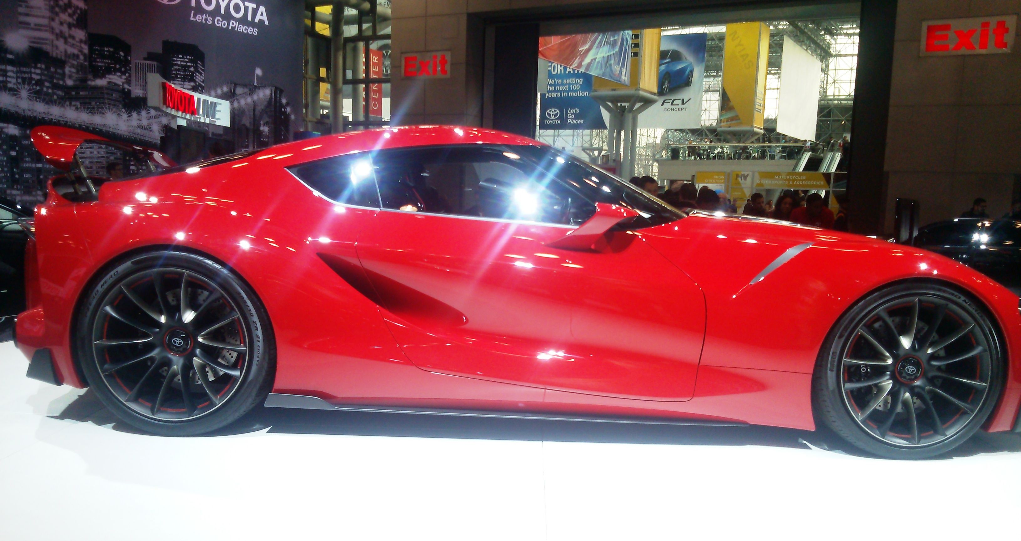 Toyota FT1 Auto, New york, Sports car