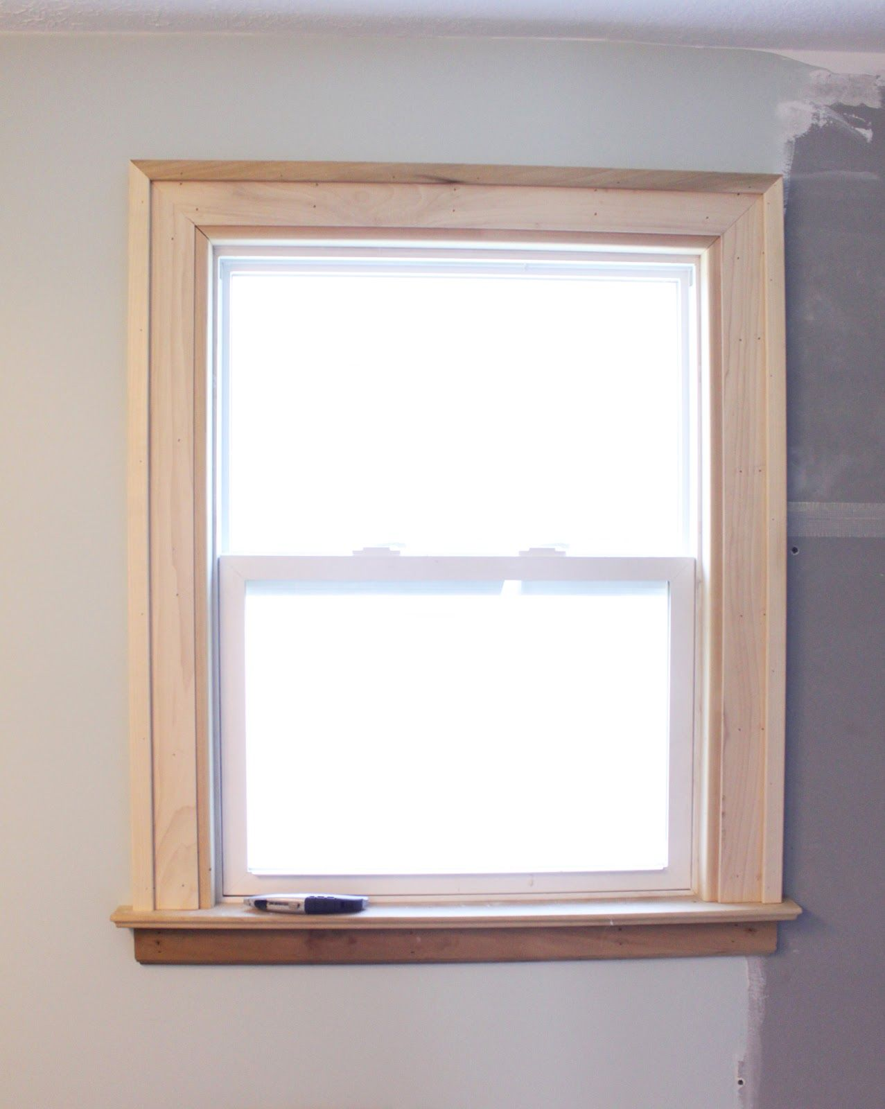 Interior window sill trim ideas - Window Trim