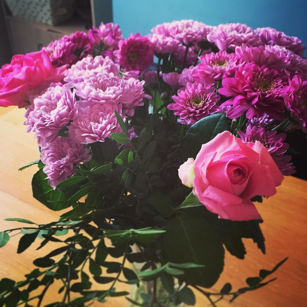 Cant Beat A Lovely Bunch Of Fresh Flowers Flowers Treat House