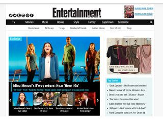 Entertainment Websites