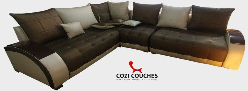 L Shafe Sofa Set With Brown And Cream Color Cost 3500 Sofa Sofa Set Brown