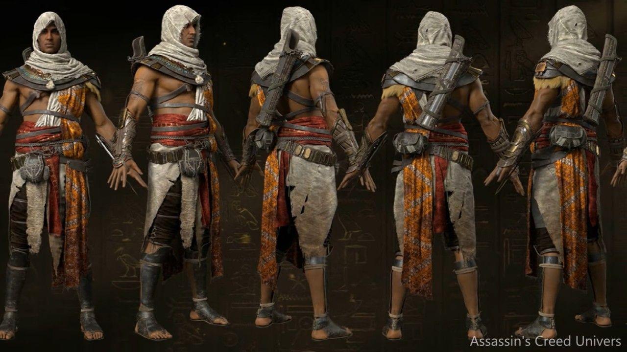 Assassin S Creed Origins Bayek Turnaround Assassins Creed