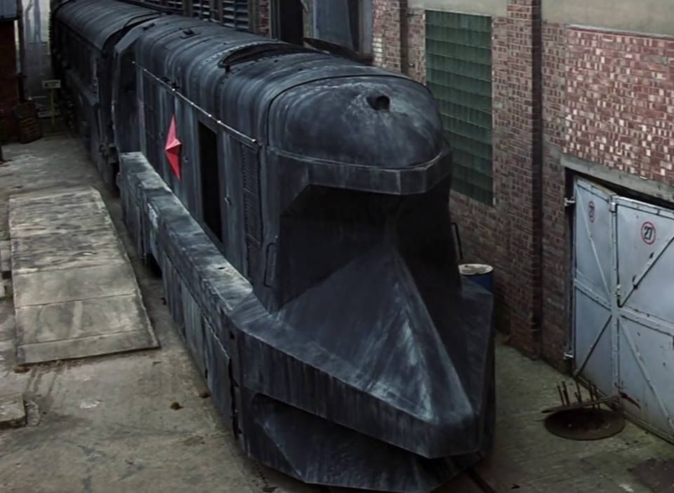 Brutalist Inspired Soviet Train From The James Bond Film Goldeneye Set In Russia Shortly After The Fall Of Communism I Think This May H Train Soviet Military