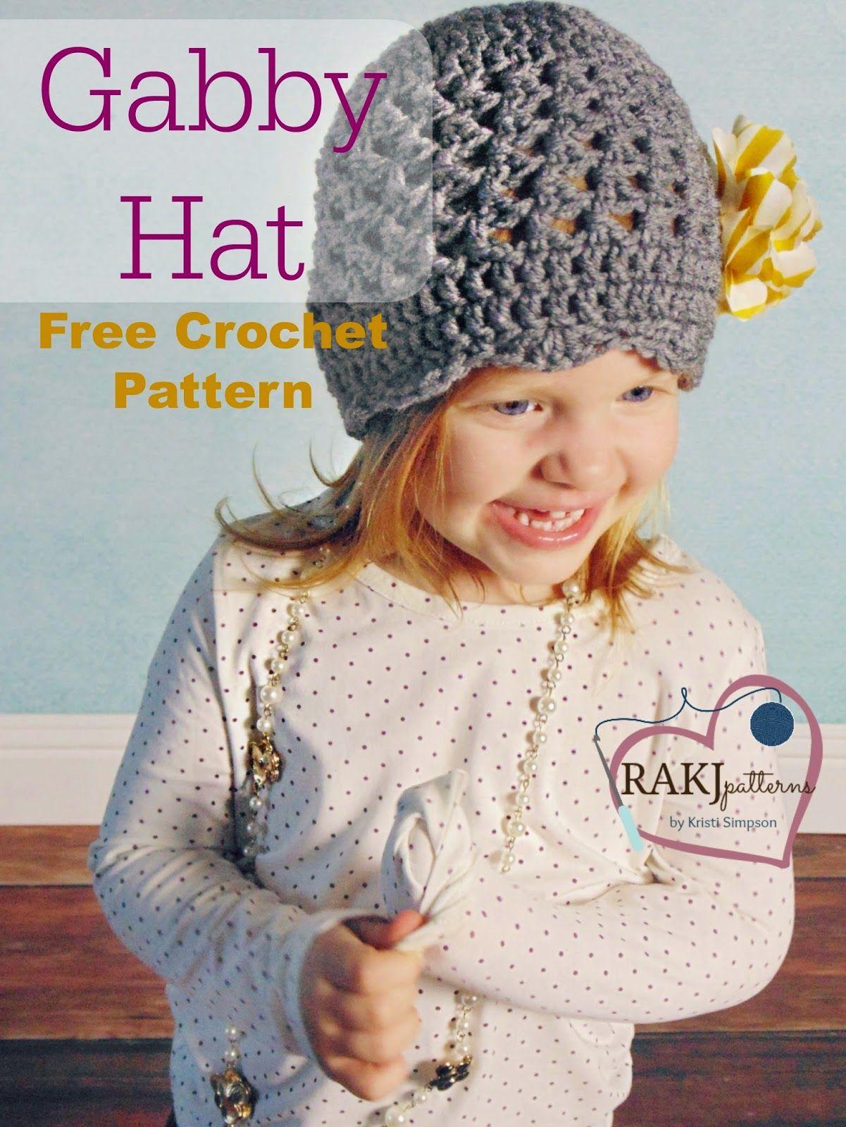 RAKJpatterns by Kristi Simpson: *NEW* FREE Crochet Pattern: Gabby ...