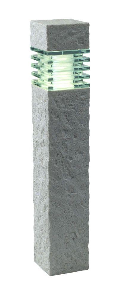Granite Modern Lamp Post Fixtures Powered Lamp Post