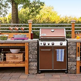 The Perfect Setup For Your Next Bbq Outdoor Kitchen Lowes Creative Outdoor Kitchen Appliances