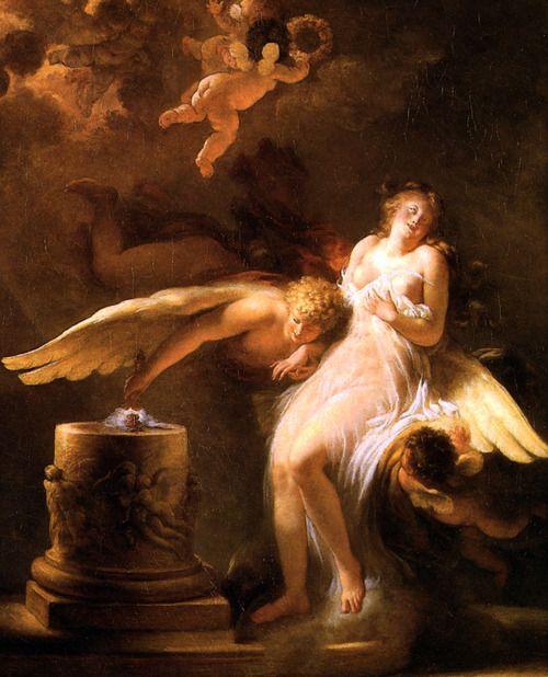 Calanthe And The Nightingale Luminacoeli Jean Honore Fragonard Le Sacrifice Kartiny Risunki Zhivopis