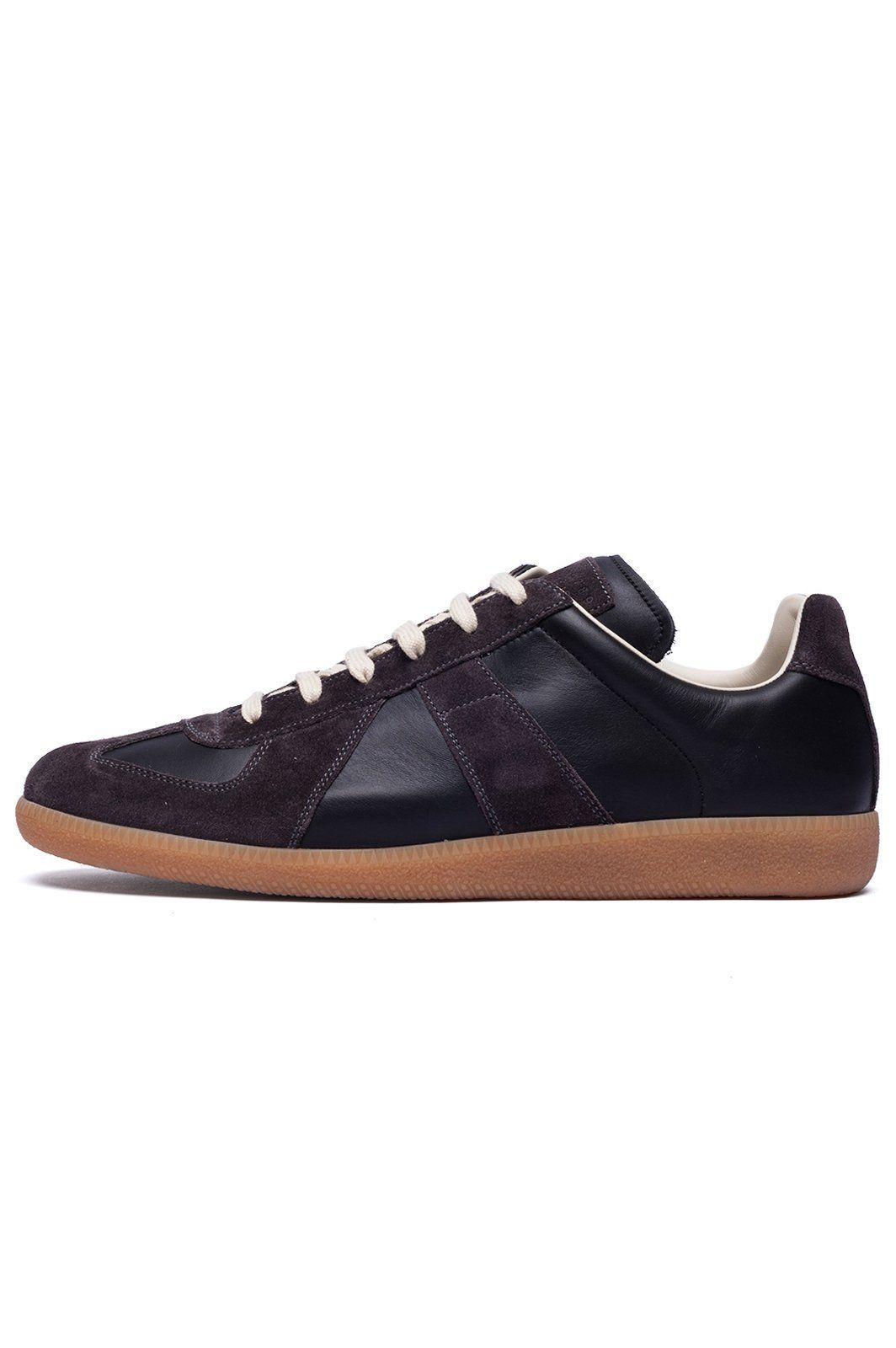 b7094de9216 Maison Margiela's iconic 'Replica' sneakers in suede and calfskin ...