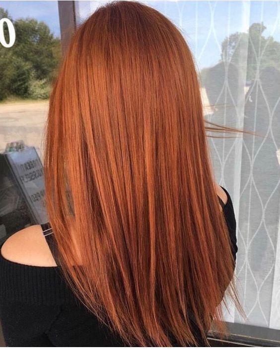 Ingwer Haarfarbe #Farbe #Kupfer #Kupferhaar #Ingwer #Haar  #Farbe