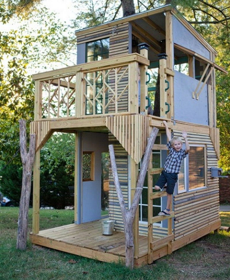 astounding pallet tree house images - best inspiration home design