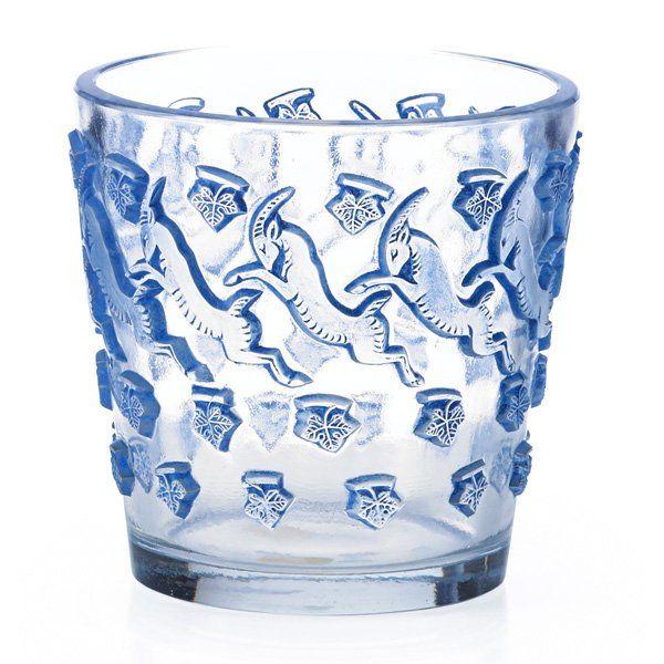"""LALIQUE Rare """"Jurançon"""" vase : Lot 73"""