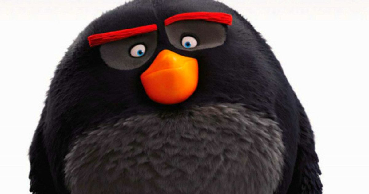 'Angry Birds' Movie Poster Sends in a Bomb -- Danny McBride voices Bomb in the 'Angry Birds' movie, which gets a new poster in anticipation of Licensing Expo 2015. -- http://movieweb.com/angry-birds-movie-poster-bomb/