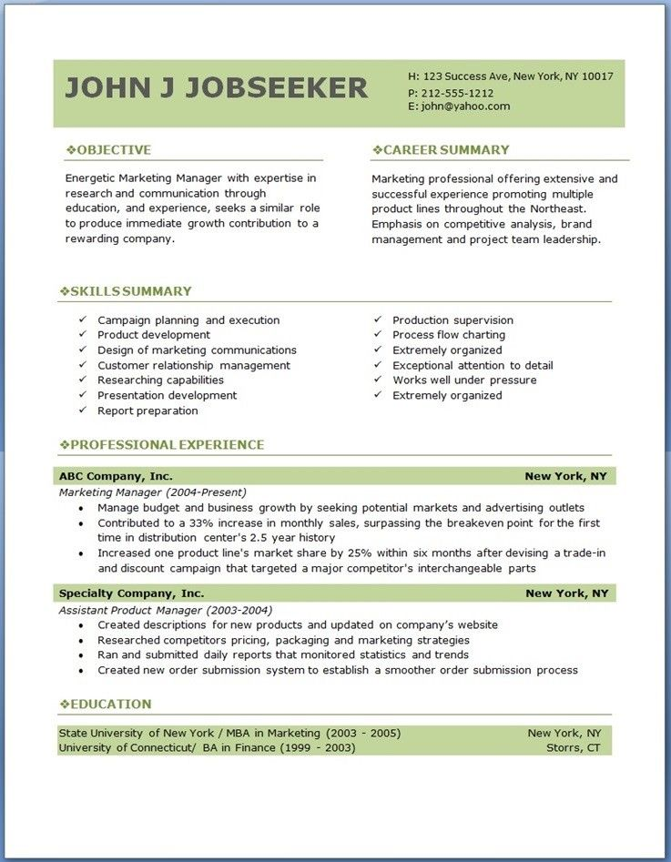 15 Free Download Resume Templates Word Resume Template Ideas The