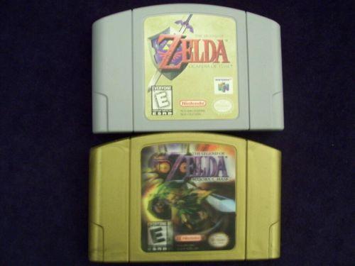 Nintendo 64 The Legend Of Zelda Majora S Mask Amp Ocarina