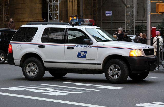 U S Postal Police Ford Explorer Ny City Postal Police Police