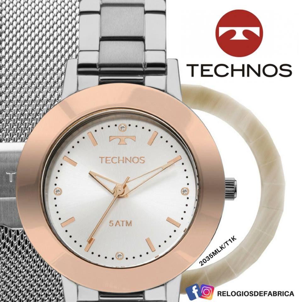 1bbbee20be8 TECHNOS FEMININO UNIQUE - TROCA PULSEIRAS E AROS - Relógios de Fabrica