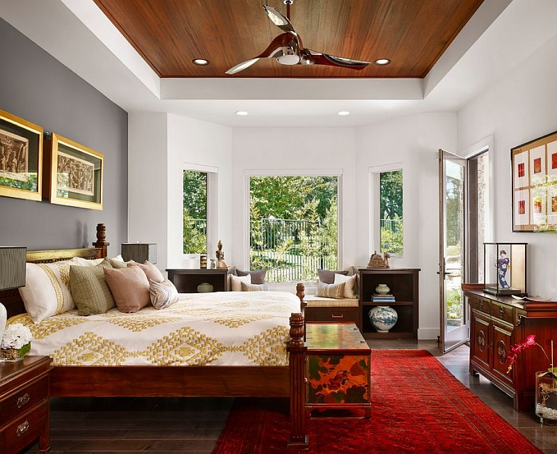 Beautiful decor ideas for an asian inspired bedroom | Asian style ...