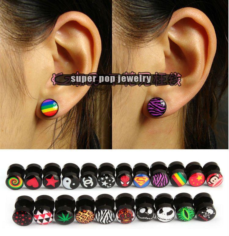 Single Plug 15 Inch Plugs 6mm Plugs Handmade Plugs Ear Expansions 2g Amber Plug Stone Plugs