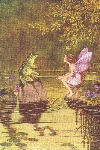Queen of Fairy illustrations: Ida Rentoul Outhwait
