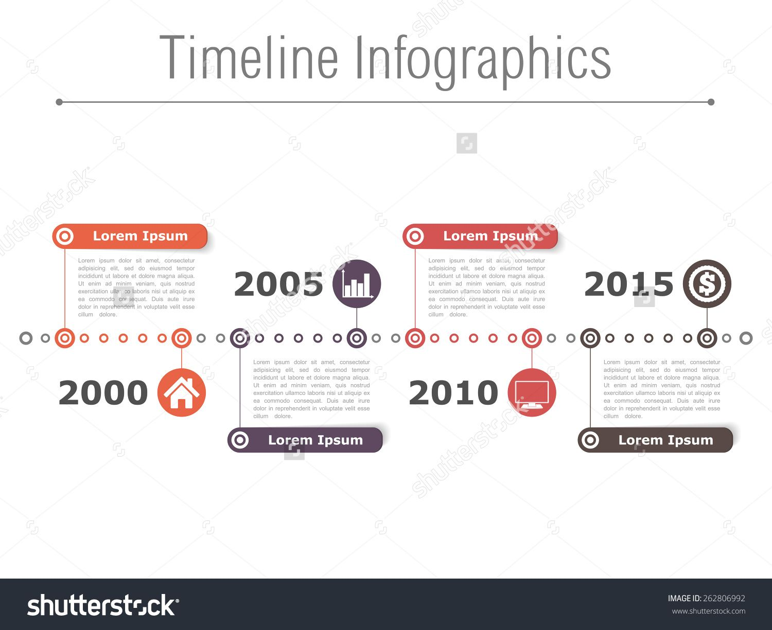 stock-vector-horizontal-timeline-infographics-design-template ...