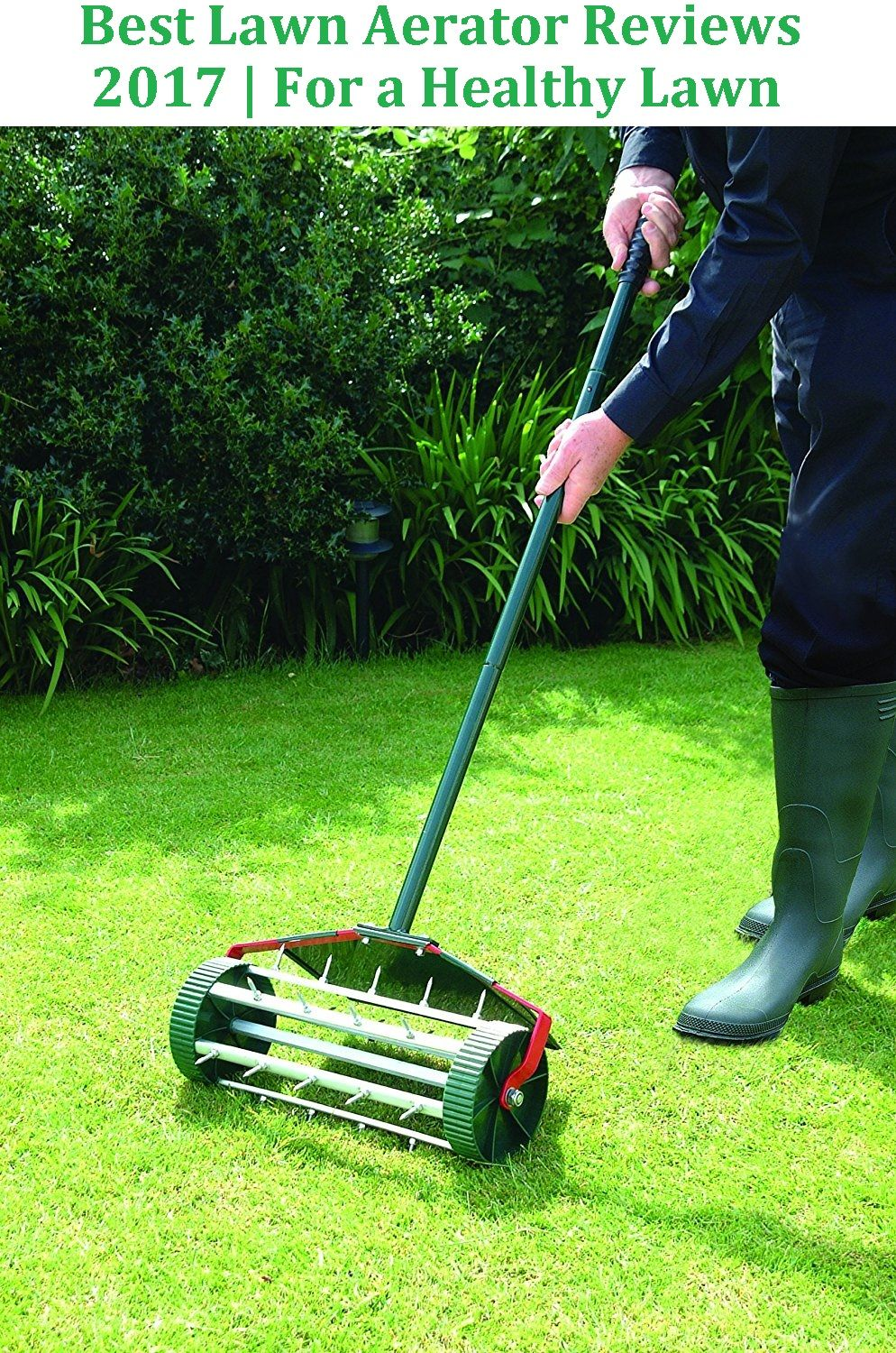 Aerator Is A Tool Or A Machine Which Is Used To Perforate The Soil The Small Holes An Aerator Makes Allow Your Lawn To Live And Aerate Lawn Lawn Healthy Lawn