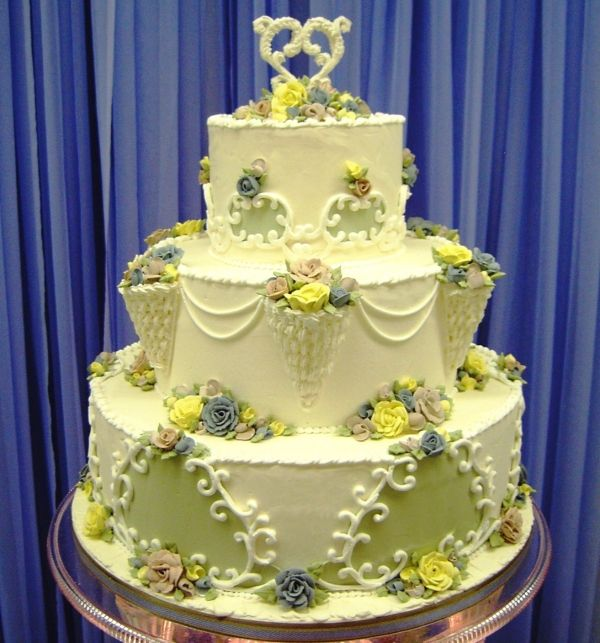 images of kerry vincent cakes | Wedding Cake Contest - Cakecentral ...