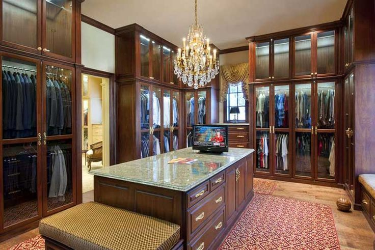 Pinterest luxery closets man 39 s luxury custom closet for Closets by design dallas